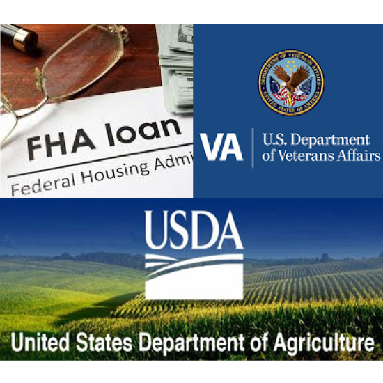 Government Loans- FHA-VA-USDA